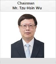 Taifex Chairman Mr. Tzu-Hsin Wu portrait