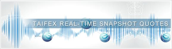 TAIFEX Real-Time snapshot Quotes
