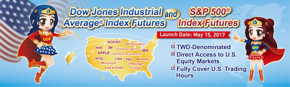 DJIA Index Futures & S&P 500 Index Futures